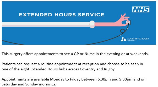 Extended Access Appointments